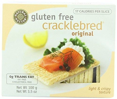 Natural Nectar Cracklebred, Original, Gluten Free 3.5 OZ(Pack of 3)