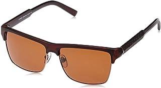نظارة شمسية للرجال مقاس 59 ملم من تي اف ال- بني