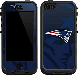 Skinit Decal Skin for LifeProof Nuud iPhone 5/5s/SE - Officially Licensed NFL New England Patriots Double Vision Design