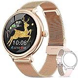 NAIXUES Smartwatch Mujer, Reloj Inteligente Impermeable IP68, Pulsera de...