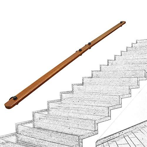 KUNYI Holztreppe Geländer, Innenkindergarten älteres Sicherheit Anti-Rutsch-Geländer wasserdichte leicht zu reinigen Thick gegen die Wand (Size : 30cm)