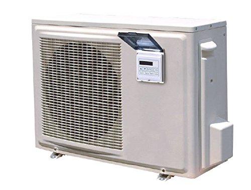 E-ECO 9 Luft-Wärmepumpe für Schwimmbad bis 32m³, bis zu 8,47kW Leistung bei 1480W Stromverbrauch