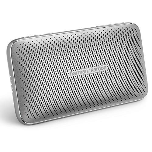 하만카톤 에스콰이어 미니2 포터블 블루투스 스피커 - 실버 Harma Kardon Esquire Mini 2 Ultra-Slim and Portable Premium Bluetooth Speaker - Silver