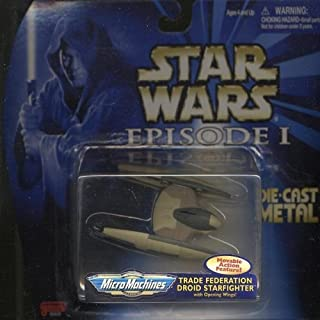 Japan Import Star Wars (STAR WARS) Episode 1 micro machine die-cast vehicles Trade Federation Droid Fighter