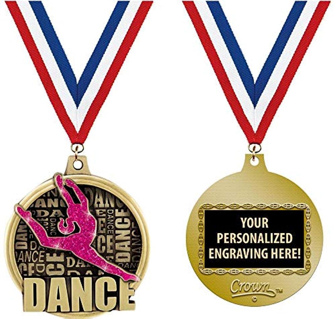 Crown Awards Custom Dance Medals, 2