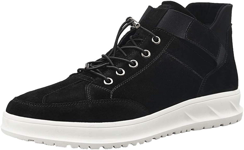 MZLWSTL Sneakers Medium shoes men casual shoes men's shoes winter wild black shoes