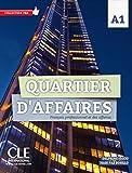 Quartier d'affaires A1: Livre de l'eleve A1 avec DVD-ROM (COLLECTION PRO) - Delphine Jegou