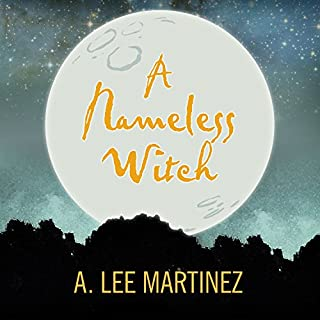 A Nameless Witch audiobook cover art