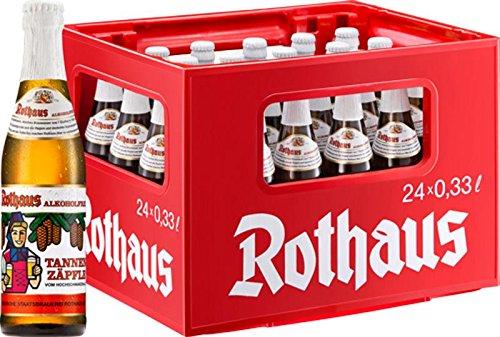 24 x Rothaus Alkoholfrei Tannenzäpfle 0,33 L Originalkiste MEHRWEG