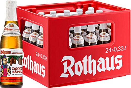 24 x Rothaus alcohol libre Tannenzäpfle 0,33 L