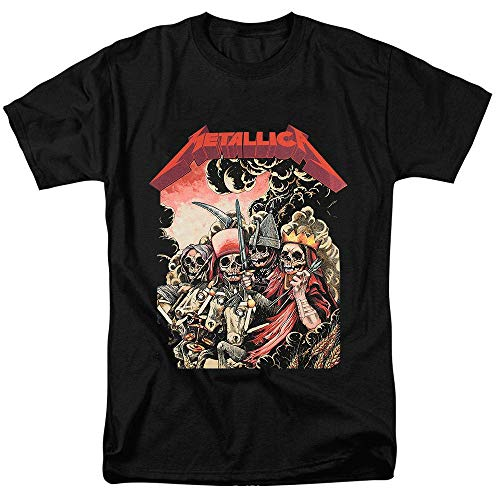 Licensed Metallica Men's The Four Horsemen T-Shirt, S to XXL