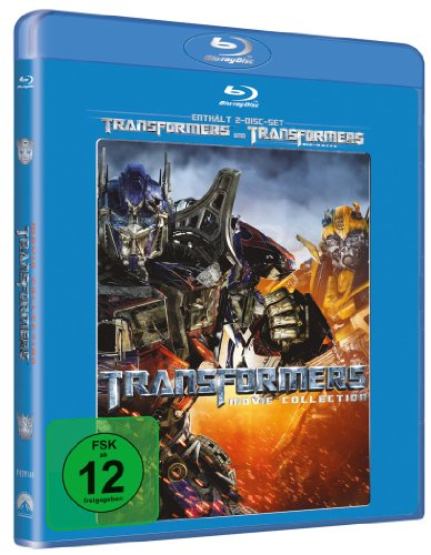 Transformers 1 + 2 Movie Collection (Blu-ray, 2 Discs)