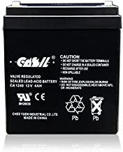 CASIL CA-1240 12V 4AH Solex BD124 Alarm Back Up DSC Security Panel Replace
