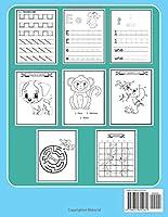 Il mio libro di Pregrafismo da colorare: Libro di prescrittura e prelettura per bambini in età prescolare   150 pagine di giochi, piccola enigmistica, ... e colorare   Per bambini da 4 anni di età. #1