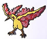 MOLTRES Pokemon Go 4' Embroidered Sew/Iron-on Patch Legendary Birds Fire Pokémon Applique Badge