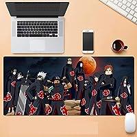 ナルト マウスパッド 大型 ゲーミングマウスパッド アニメ 大判 デスクマット ラップトップマット 巨大型 防水 滑り止-C_900*400*3MM