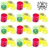 Caratteristiche - Le nostre 96 mini molle super elastiche sono disponibili in una varietà di 6 attraenti colori vivaci: giallo, rosa, blu, ciliegia, arcobaleno e verde, per accontentare tutti i bambini e soddisfare tutti i gusti, garantendo ore di di...