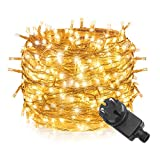 100M LED String Light String 1000LED impermeable Blanco...