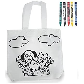 Bolsa infantil para pintar con pinturas de cera - Pack de 10 ...