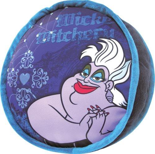 Disney Ursula - Cojín (redondo, 35 cm), diseño de La Siren
