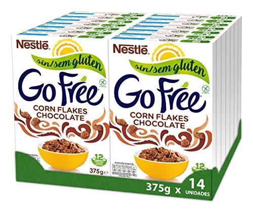Cereales Nestlé Go Free Chocolate - 14 paquetes de 375 g