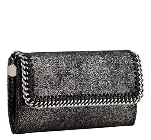 Luxury Fashion | Stella Mccartney Dames 430999W90561111 Zwart Polyester Portemonnees | Herfst-winter 19
