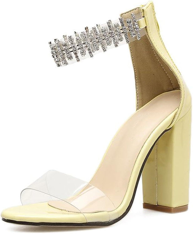 Linson123 Women's high Heels Summer Fashion Ladies Sandals Evening Dress shoes