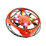 Mini UFO Drone, Palla Volante Giocattoli Volanti Controllati a Mano Ricaricabile, Giocattolo per...