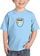 Uruguay - Country Soccer Crest Infant/Toddler Cotton Jersey T-Shirt