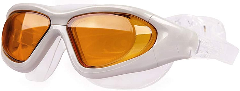JBP max Swimming Glasses For Men And Women Waterproof Anti-Fog HD Swimming Goggles Comfortable Diving Goggles Large Box Swimming Goggles
