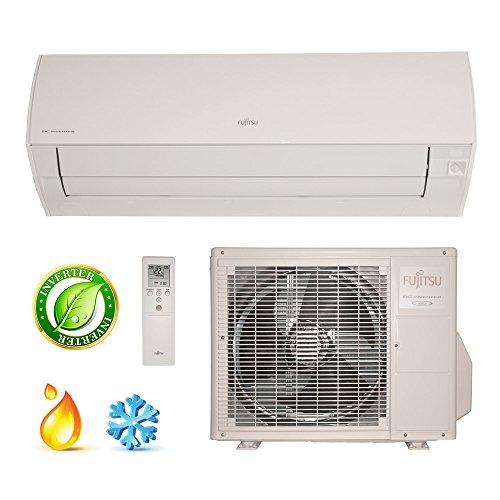 Ar Condicionado Split High Wall Inverter Fujitsu 9000 Btus Quente/Frio 220v 1F ASBG09LMCA QF