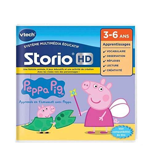 VTech273405Juego HD StorioPeppa Pig