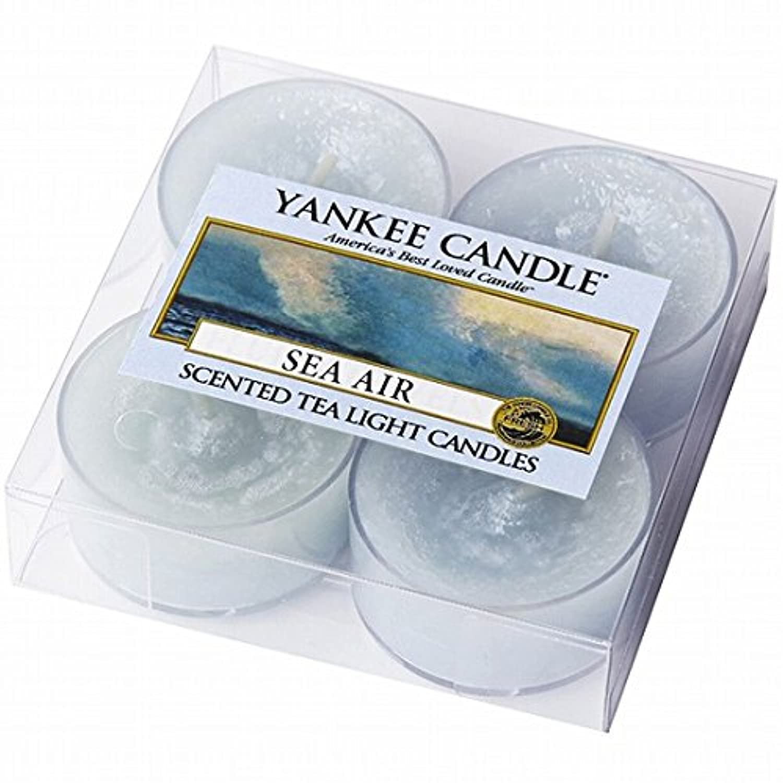 ヤンキーキャンドル(YANKEE CANDLE) YANKEE CANDLE クリアカップティーライト4個入り 「シーエアー」