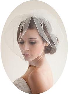 Birdcage Wedding Veils Short with Comb