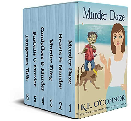 Zee Town Paranormal Cozy Mystery - Complete Series Omnibus: Books 1 - 6 (English Edition)