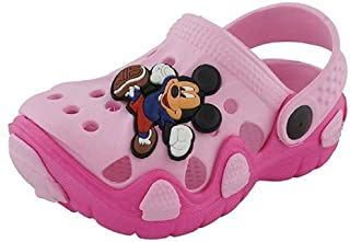 NEW AMERICAN Kids Attractive Pink Clogs