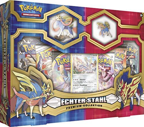 CAGO Pokemon - Echter Stahl Premium Kollektion - Zacian Box - Deutsch