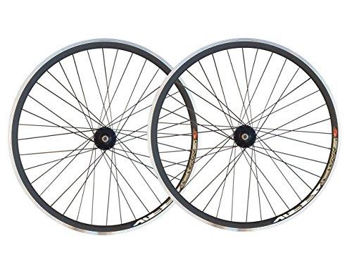 Ruote per bici a scatto fisso, fixie, single speed da 30 mm, con mozzi flip flop da pista Joytech,...