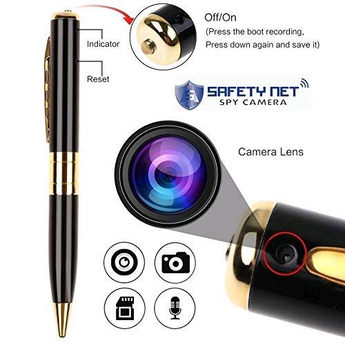 Safety Net DVR Mini DV Recording Video Audio Recorder Portable Pen Camera Pocket USB Security Camcorder