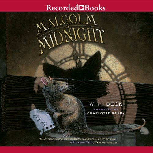 Malcolm at Midnight audiobook cover art