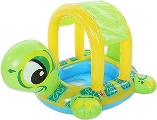 Flotador de Natación para Bebés con sombrilla ajustable