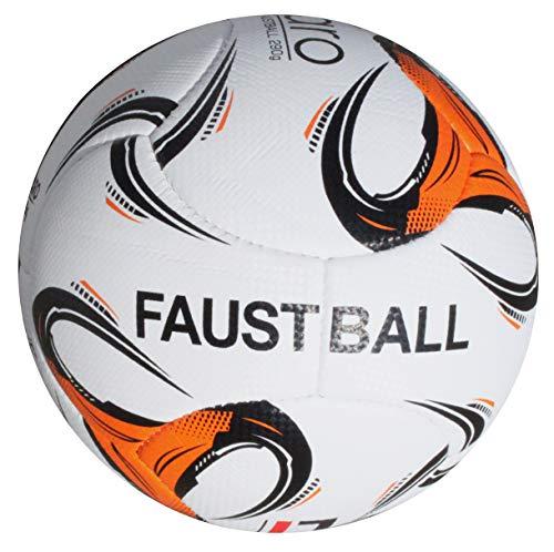 Lisaro Sport-Tec - Balón de fútbol para jóvenes y mujeres (290 g, tejido suave con aspecto de piel)