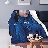魅力的な芸術 有村架純 毛布 ブランケット ひざ掛け 洗いok 綿毛布 掛け毛布 通年使用 暖房 軽量 肩掛け 冷房対策 大判 車用 おしゃれ