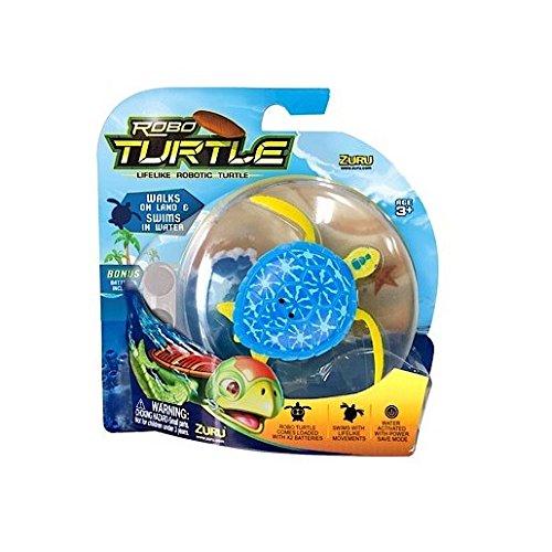 Robot Turtle - Blu