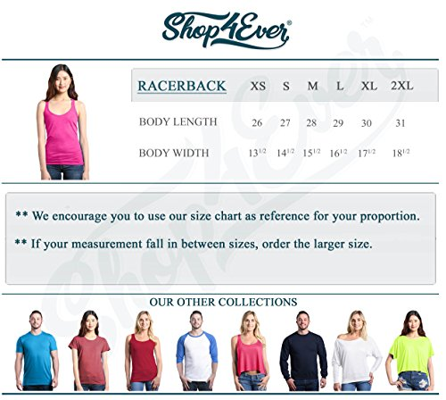 Shop4Ever Squats I Thought You Said Shots Women's Racerback Tank Top Gym Tank Tops X-Large Navy 0