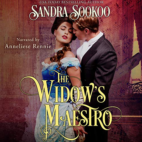 The Widow's Maestro audiobook cover art