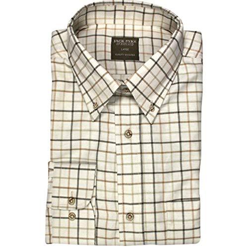 Jack Pyke Countryman - Camisa de Cuadros - Marrón - S