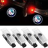 4 Pezzi Logo Illuminazione Porta 12 V High Definition Portiera Auto Proiezione Luce