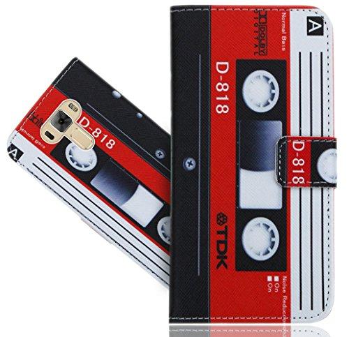 ASUS Zenfone 3 Laser ZC551KL 5.5 Inch Handy Tasche, FoneExpert® Wallet Hülle Flip Cover Hüllen Etui Hülle Ledertasche Lederhülle Schutzhülle Für ASUS Zenfone 3 Laser ZC551KL 5.5 Inch