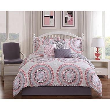 Studio 17 Parma 7-Piece Reversible Queen Comforter Set